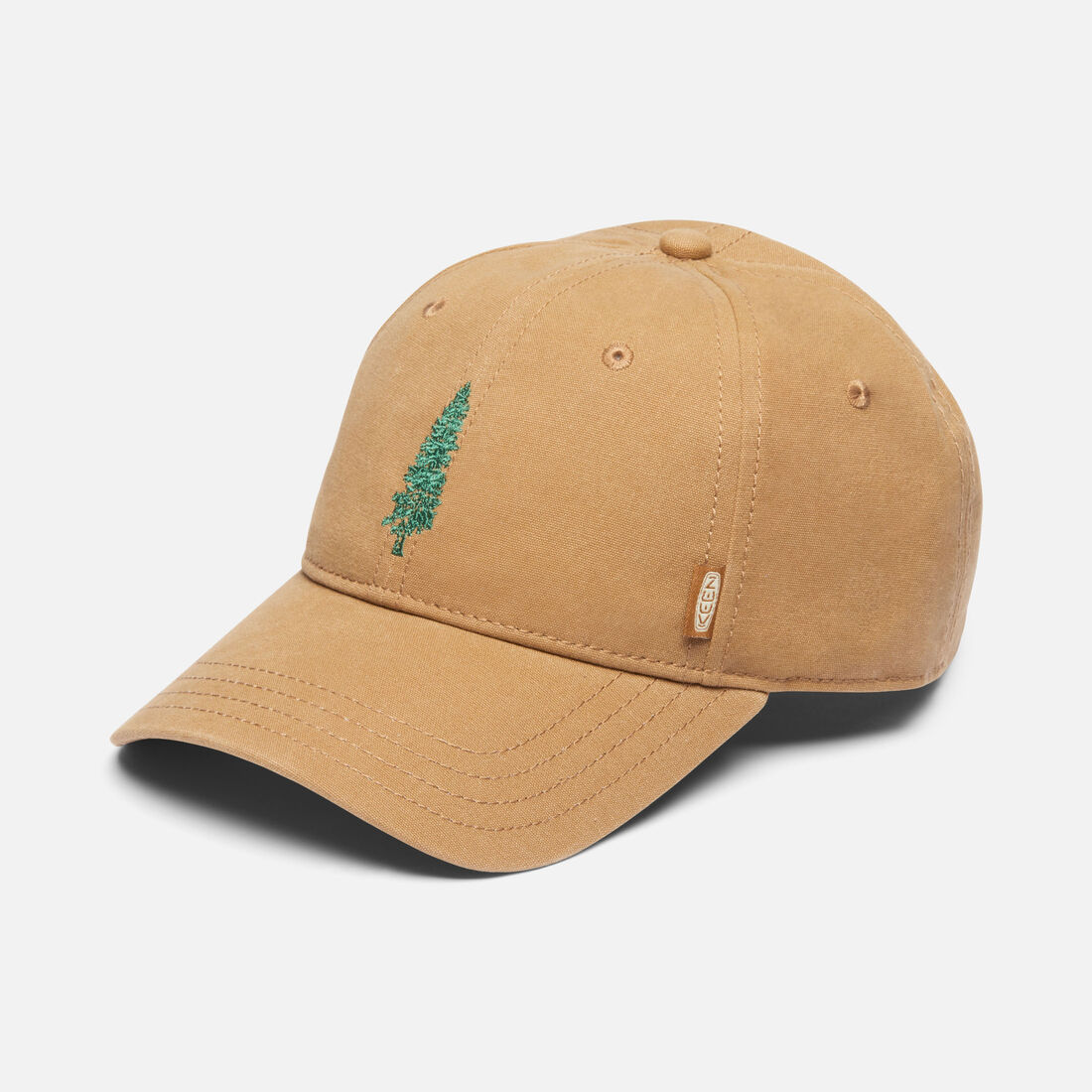 Fir Tree Hat in Khaki - large view.