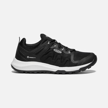 WOMEN'S EXPLORE VENT HIKING SHOES in BLACK/STAR WHITE - large view.