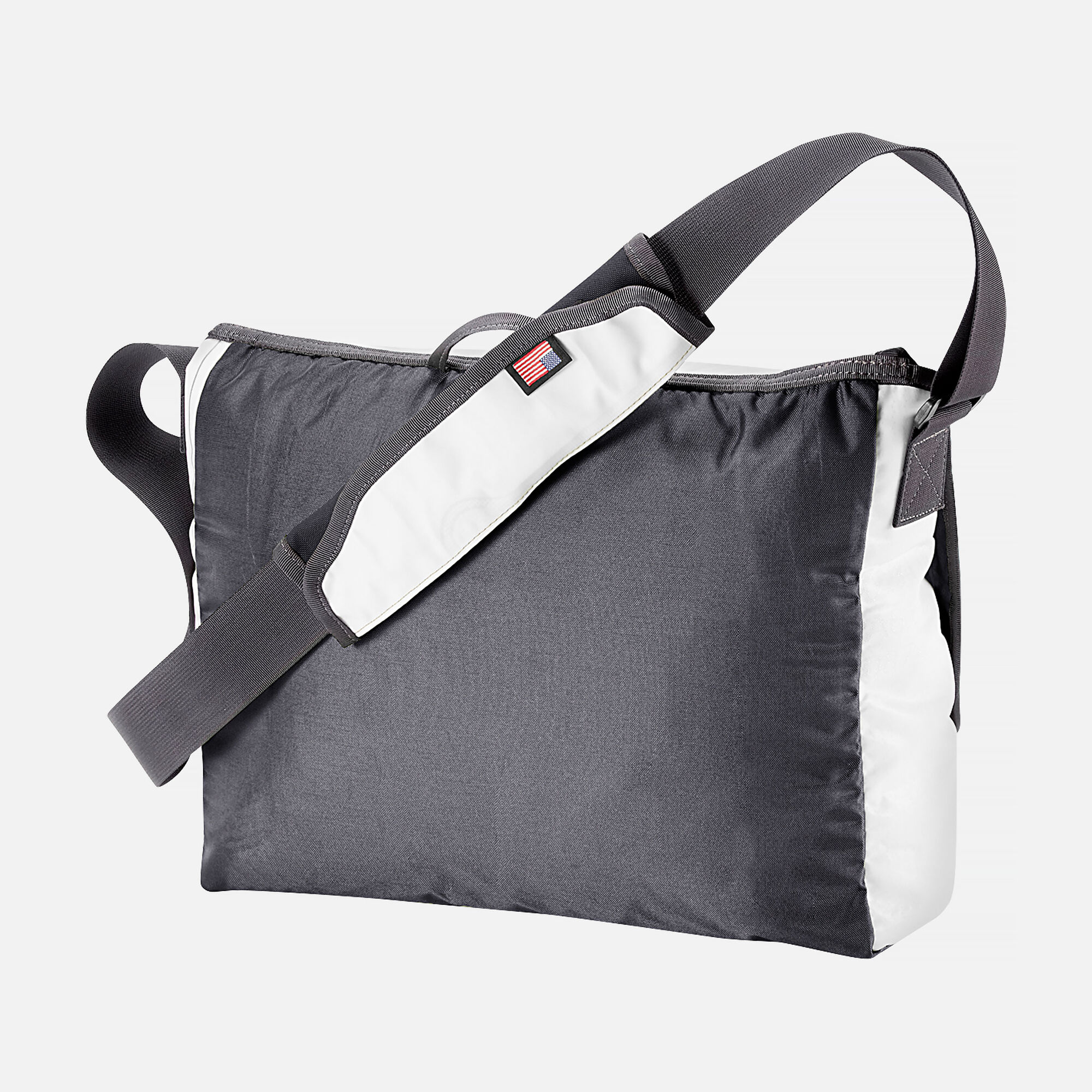 Keen Harvest Iii Messenger Bag In White Grey Small View