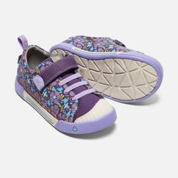 Little Kids' ENCANTO FINLEY LOW in Purple Plumeria/Lavender - small view.