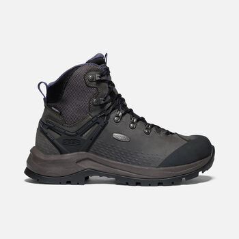 Women's Wild Sky Waterproof Hiking Boots in Magnet/Graystone - large view.