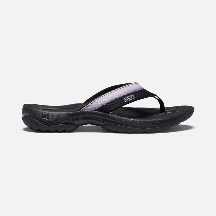 Women's Kona Flip II in Black/Thistle - large view.