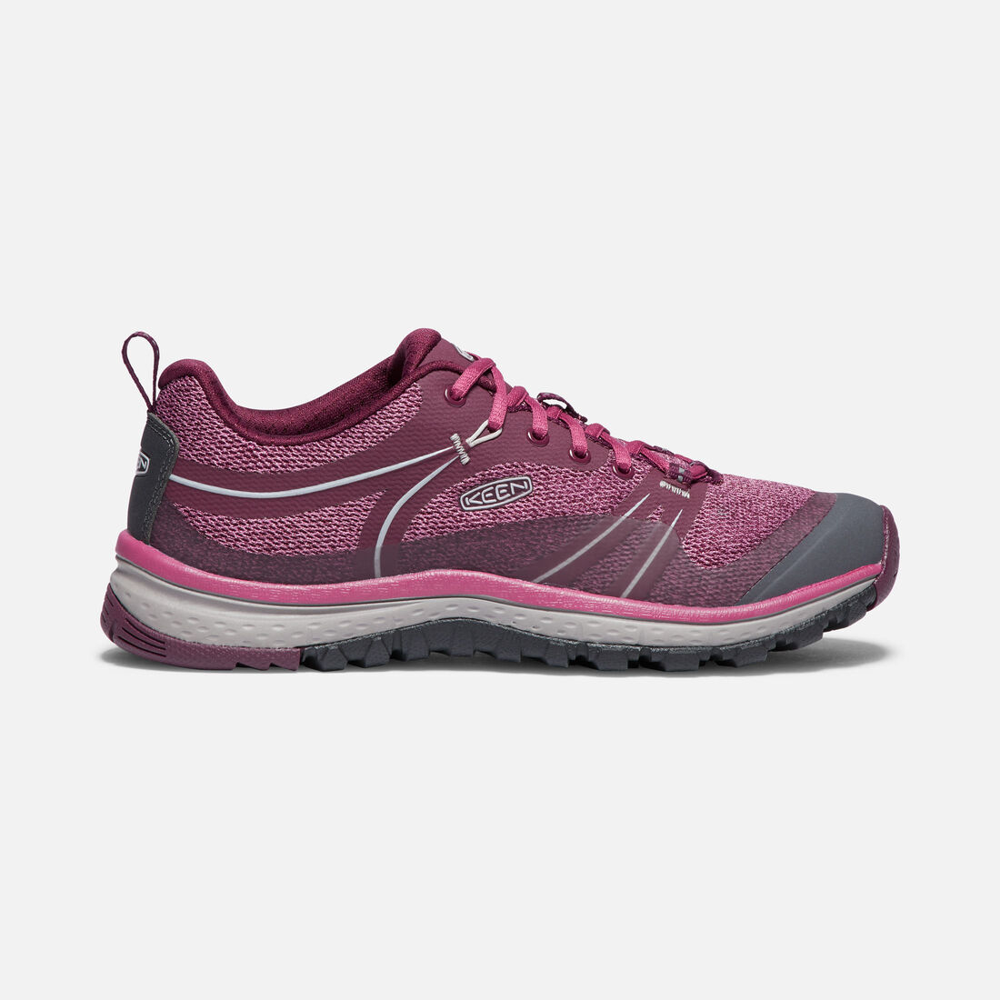 Women's TERRADORA in GRAPE WINE/RED VIOLET - large view.