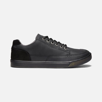 Men's Glenhaven Casual Trainers in BLACK - large view.
