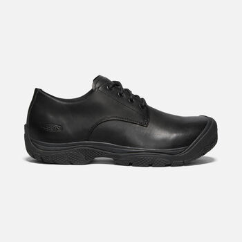 Men's KANTEEN OXFORD (SOFT TOE) in BLACK/BLACK - large view.