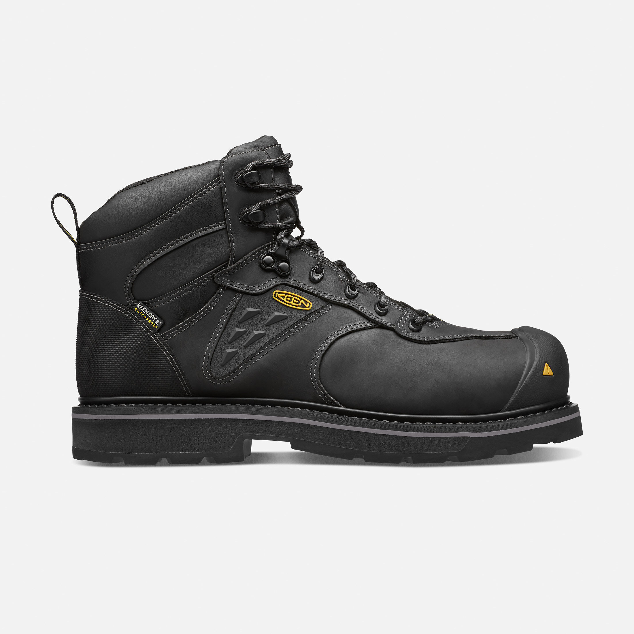 menu0027s tacoma waterproof composite toe in black large view
