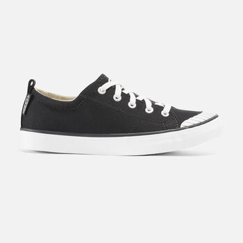 Women's Elsa Sneaker in Black/Star White - large view.