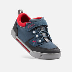 ENCANTO WESLEY LOW pour enfants in Midnight Navy/Formula One - small view.