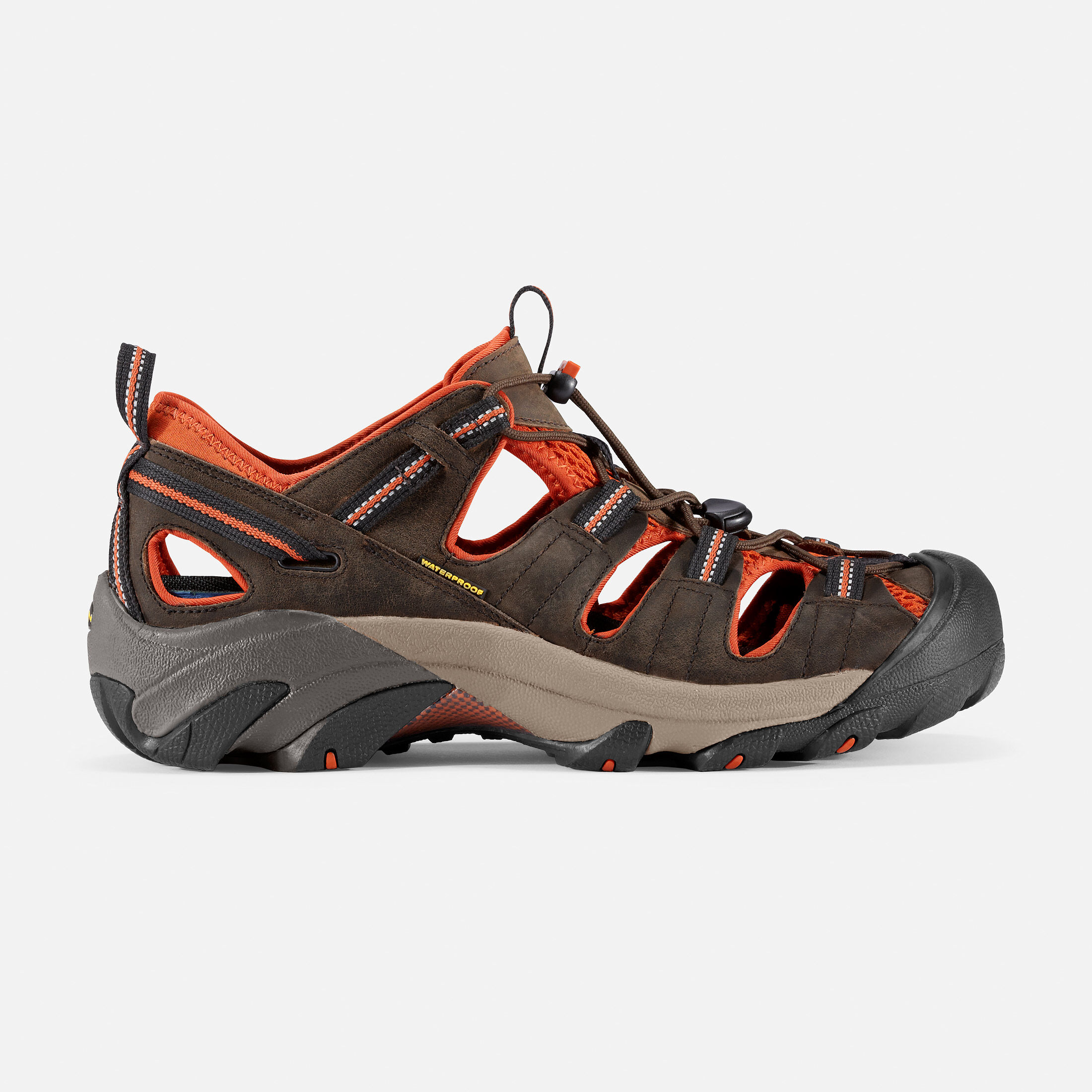 Keen ARROYO II - Walking sandals - black olive/bombay brown Ygg1PEcCNU