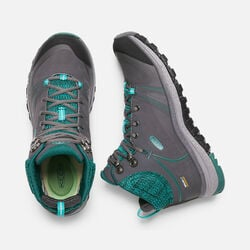 Women's TERRADORA PULSE Waterproof MID in Magnet/Baltic - small view.