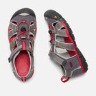 Older Kids' Seacamp II Cnx Sandals in MAGNET/RACING RED - small view.