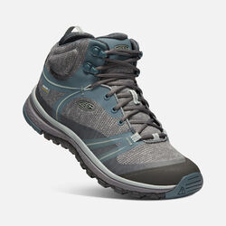 Women's TERRADORA Waterproof Mid in STORMY WEATHER/WROUGHT IRON - small view.