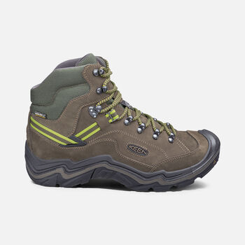 Men's Galleo Waterproof Hiking Boots in BLACK/GREENERY - large view.