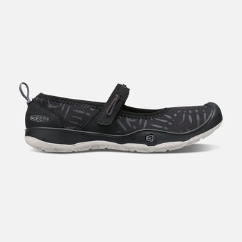 Older Kids' Moxie Mary Jane Ballet Flats in Black/Vapor - large view.