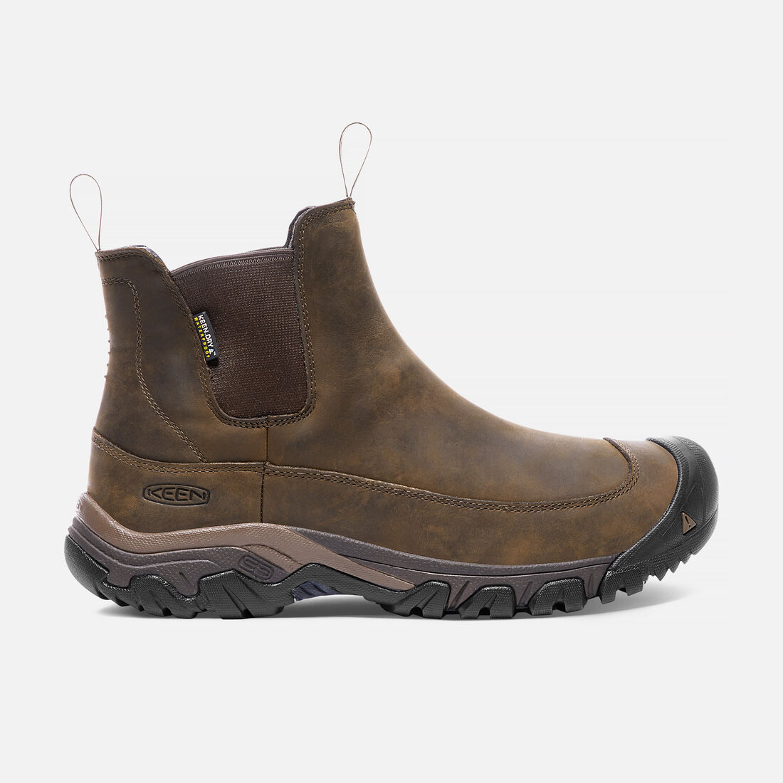 MEN'S ANCHORAGE III WATERPROOF  BOOTS in Dark Earth/Mulch - large view.