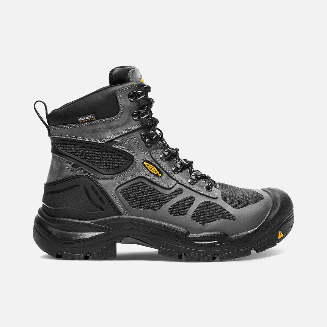 "Men's CONCORD 6"" Waterproof Boot (Steel Toe) in Steel Grey/Black - large view."
