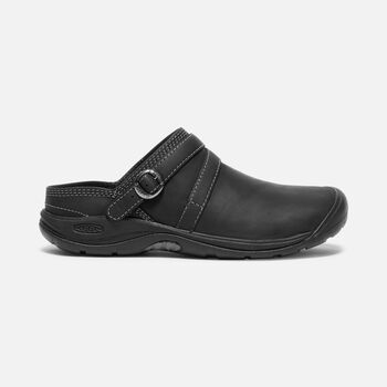 Women's PRESIDIO II MULE in BLACK/STEEL GREY - large view.