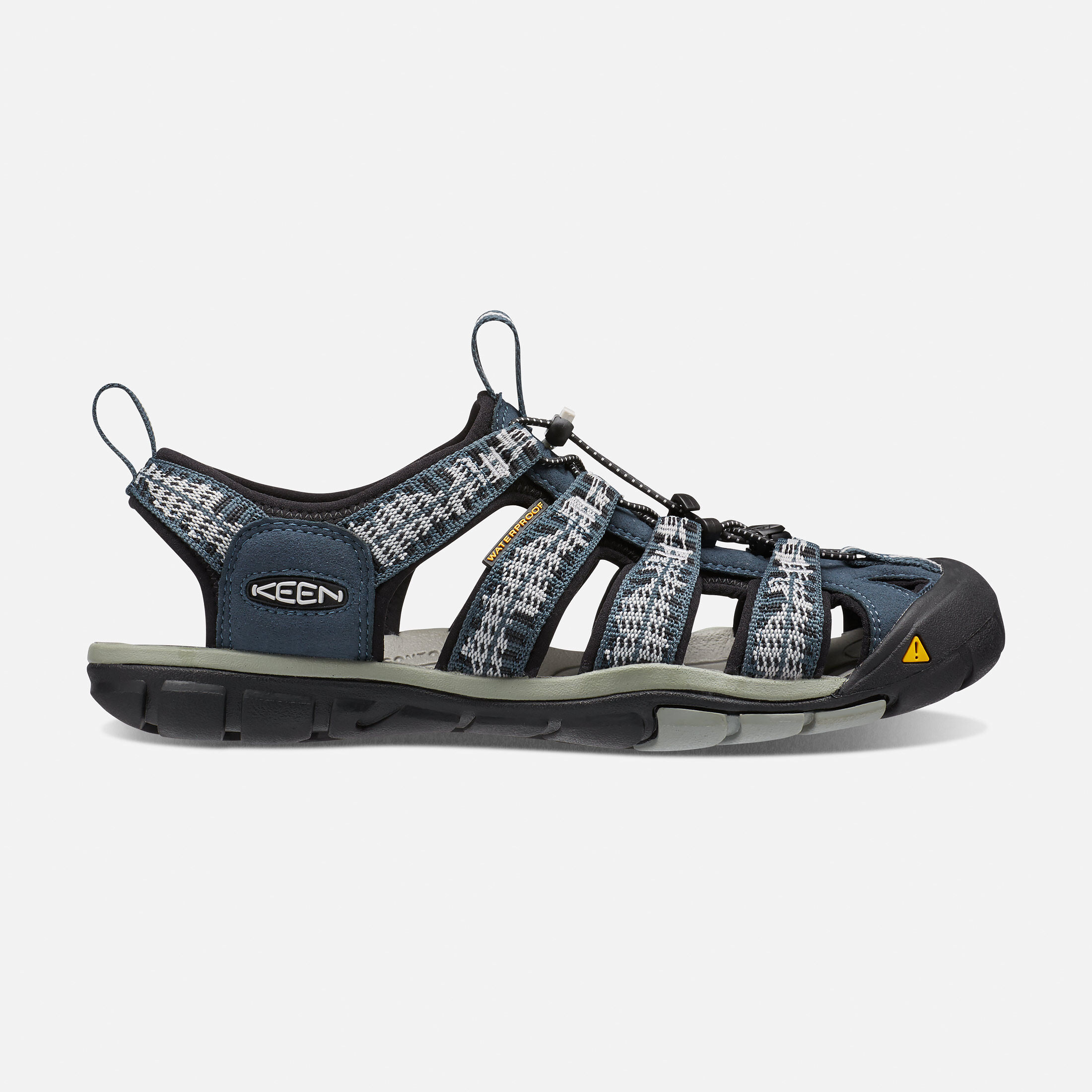 Keen Mens Clearwater CNX Walking Sandal Grey Sports Outdoors Breathable