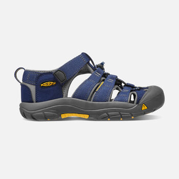 YOUNGER KIDS' NEWPORT H2 SANDALS in BLUE DEPTHS/GARGOYLE - large view.
