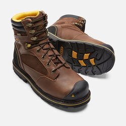 Men's Sheridan Insulated Waterproof Boot (Composite Toe) in Cascade Brown - small view.