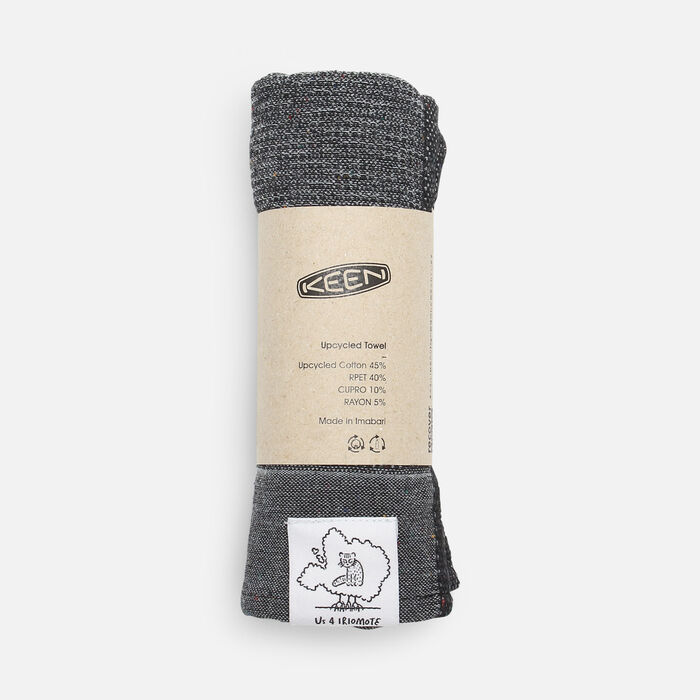US 4 IRIOMOTEチャリティーECO TOWEL in Grey - large view.