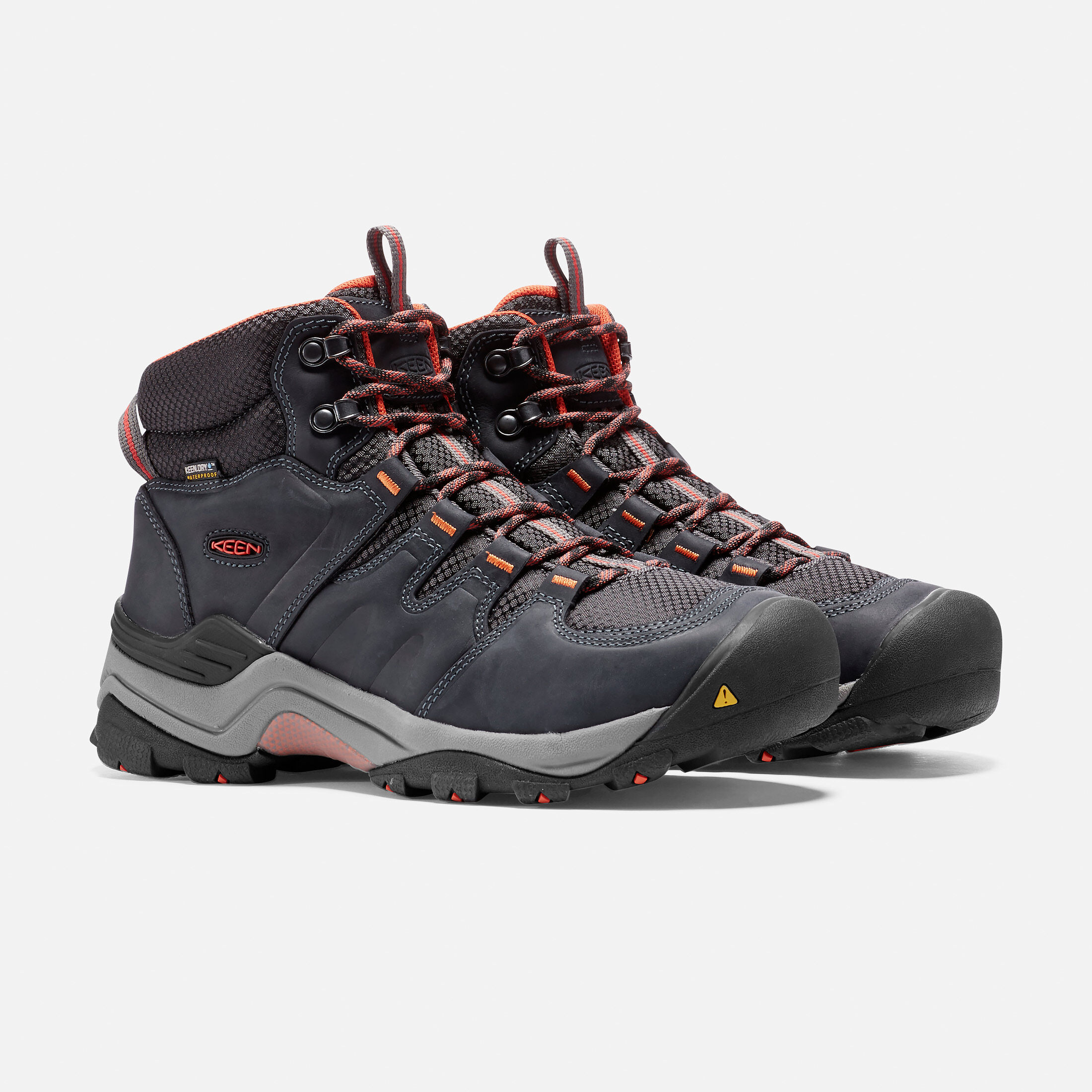 Keen GYPSUM II MID WP Marron ExwsE34Vp