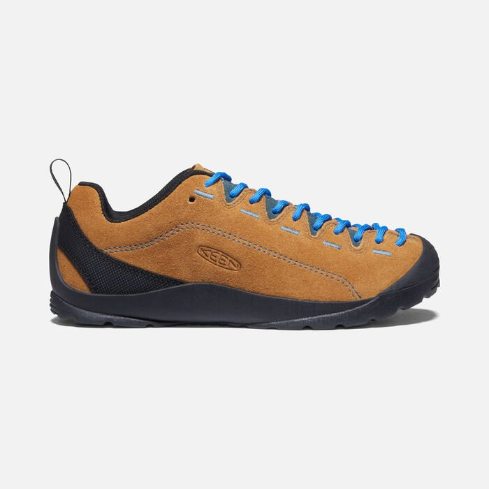 WOMEN'S JASPER CASUAL TRAINERS in CATHAY SPICE/ORION BLUE - large view.