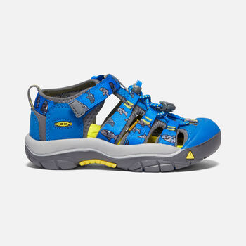 Little Kids' Newport H2 in VIBRANT BLUE SHARKS - large view.