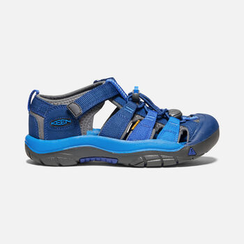 Big Kids' Newport H2 in BLUE OPAL/VIBRANT BLUE - large view.