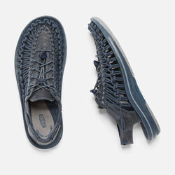 MEN'S UNEEK LEATHER in Marine/Midnight Navy - small view.