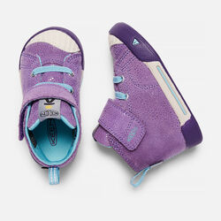 Toddlers' Encanto Scout High Top in Purple Plumeria/Aqua Haze - small view.