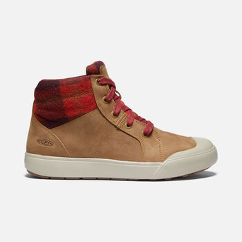 Women's Elena Mid Boot in THRUSH/PLAID - large view.