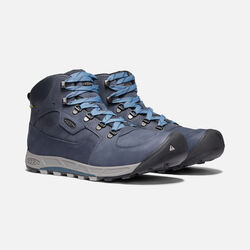 Men's Westward Leather Waterproof Mid in DARK SEA/NIGHT - small view.