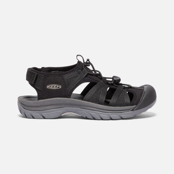 Women's Venice II H2 Sandals in BLACK/STEEL GREY - large view.