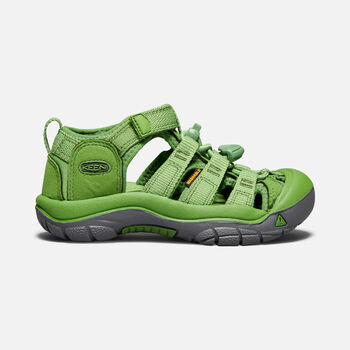 YOUNGER KIDS' NEWPORT H2 SANDALS in FLUORITE GREEN - large view.