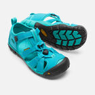 Older Kids' Seacamp II Cnx Sandals in BALTIC/CARIBBEAN SEA - small view.