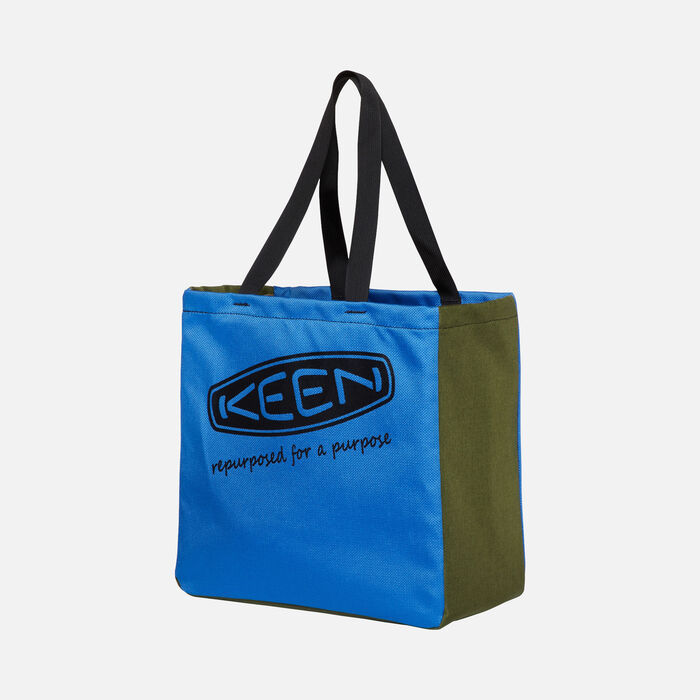 KEEN Tote Bag in BLUE/GREEN - large view.