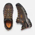 Men's Targhee Exp Waterproof Hiking Shoes in Cascade/Inca Gold - small view.