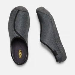Men's HOWSER DOWN SLIDE in Black/Magnet - small view.