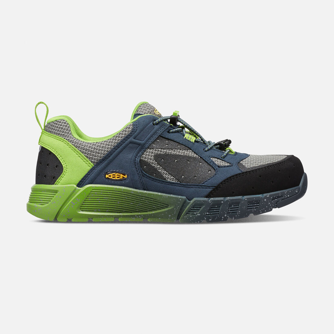 Men's CSA Raleigh (Aluminum Toe) in Neutral Gray/Greenery - large view.