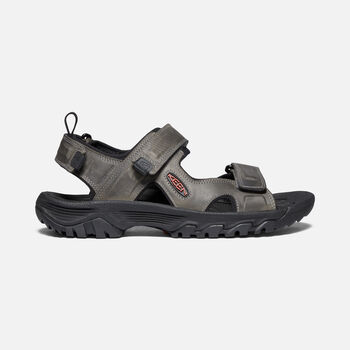 Men's Targhee III Open Toe Sandals in Grey/Black - large view.