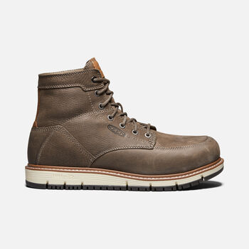 "Men's San Jose 6"" Boot (Aluminum Toe) in FALCON/CARAMEL CAFE - large view."