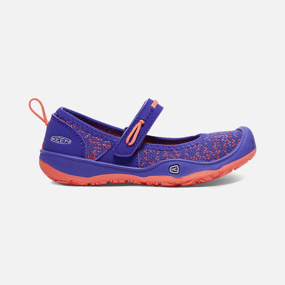 Little Kids' MOXIE MARY JANE in Royal Blue/Fusion Coral - large view.