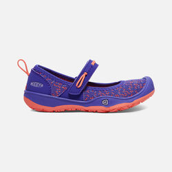 Little Kids' MOXIE MARY JANE in Royal Blue/Fusion Coral - small view.