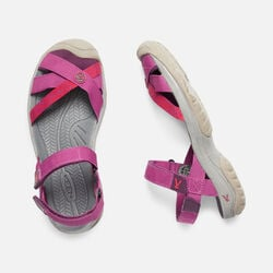 Women's BALI STRAP in RED VIOLET/BOYSENBERRY - small view.
