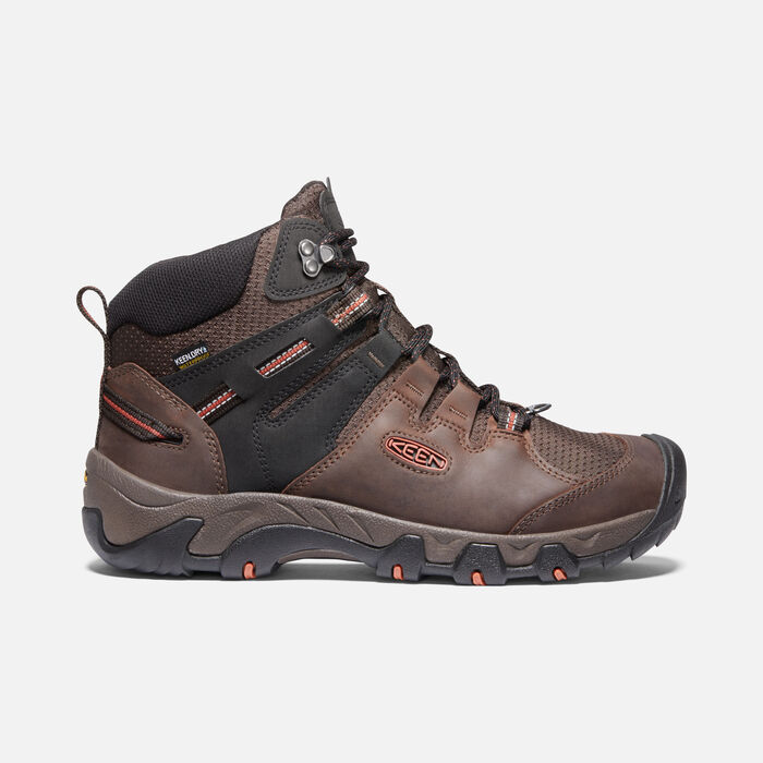 Men's Steens Polar Boot in Coffee Bean/Picante - large view.