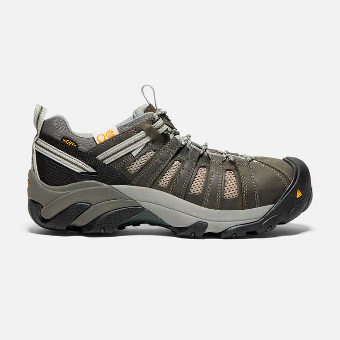CSA WINDSOR STEEL TOE POUR HOMME in Gargoyle/Forest Night - large view.