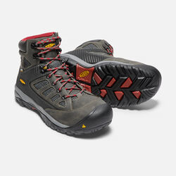 Men's Tucson Mid (Steel Toe) in Magnet/Chili Pepper - small view.
