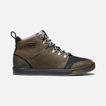 Men's WINTERHAVEN Waterproof Boot in Alcatraz/Black - large view.