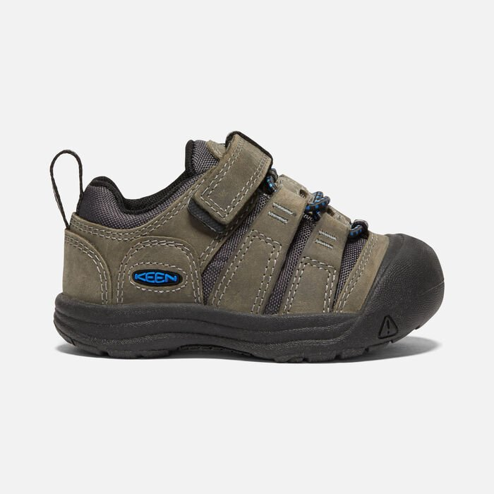 Toddlers' Newport Shoe in Steel Grey/Brilliant Blue - large view.